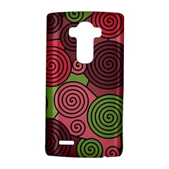 Red and green hypnoses LG G4 Hardshell Case
