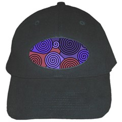 Blue and red hypnoses  Black Cap