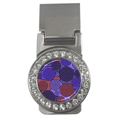 Blue and red hypnoses  Money Clips (CZ)