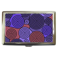 Blue and red hypnoses  Cigarette Money Cases