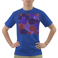 Blue and red hypnoses  Dark T-Shirt