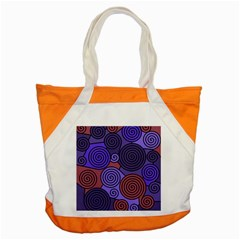 Blue and red hypnoses  Accent Tote Bag