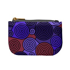 Blue and red hypnoses  Mini Coin Purses