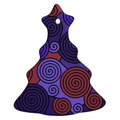 Blue and red hypnoses  Ornament (Christmas Tree)