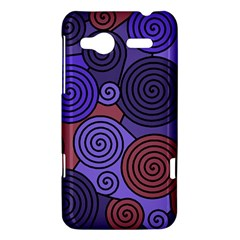 Blue and red hypnoses  HTC Radar Hardshell Case