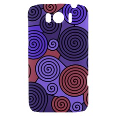 Blue and red hypnoses  HTC Sensation XL Hardshell Case