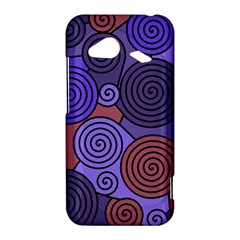 Blue and red hypnoses  HTC Droid Incredible 4G LTE Hardshell Case