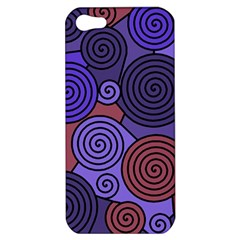Blue and red hypnoses  Apple iPhone 5 Hardshell Case