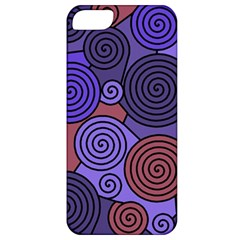 Blue and red hypnoses  Apple iPhone 5 Classic Hardshell Case