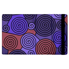 Blue and red hypnoses  Apple iPad 3/4 Flip Case