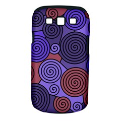 Blue and red hypnoses  Samsung Galaxy S III Classic Hardshell Case (PC+Silicone)