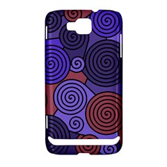 Blue and red hypnoses  Samsung Ativ S i8750 Hardshell Case