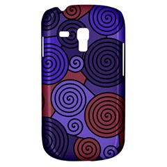 Blue and red hypnoses  Samsung Galaxy S3 MINI I8190 Hardshell Case