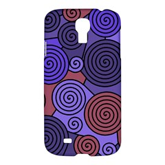 Blue and red hypnoses  Samsung Galaxy S4 I9500/I9505 Hardshell Case