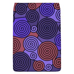 Blue and red hypnoses  Flap Covers (L)