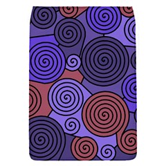 Blue and red hypnoses  Flap Covers (S)