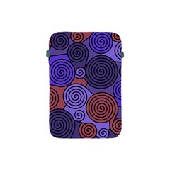 Blue and red hypnoses  Apple iPad Mini Protective Soft Cases