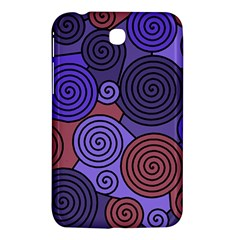 Blue and red hypnoses  Samsung Galaxy Tab 3 (7 ) P3200 Hardshell Case