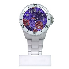 Blue and red hypnoses  Plastic Nurses Watch