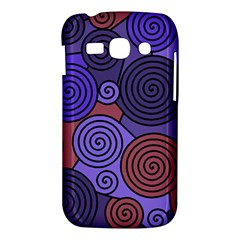 Blue and red hypnoses  Samsung Galaxy Ace 3 S7272 Hardshell Case