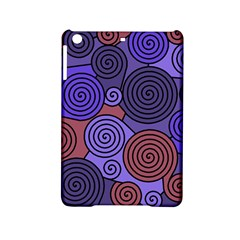 Blue and red hypnoses  iPad Mini 2 Hardshell Cases
