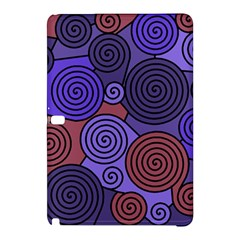 Blue and red hypnoses  Samsung Galaxy Tab Pro 10.1 Hardshell Case