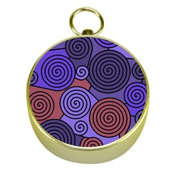 Blue and red hypnoses  Gold Compasses