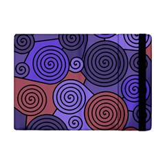 Blue and red hypnoses  iPad Mini 2 Flip Cases