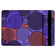 Blue and red hypnoses  iPad Air 2 Flip