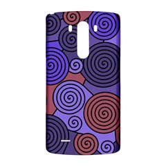 Blue and red hypnoses  LG G3 Back Case