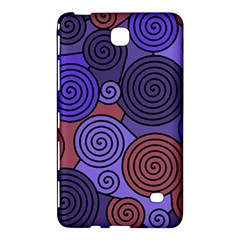 Blue and red hypnoses  Samsung Galaxy Tab 4 (7 ) Hardshell Case