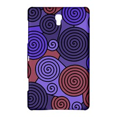 Blue and red hypnoses  Samsung Galaxy Tab S (8.4 ) Hardshell Case