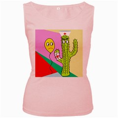 Health insurance  Women s Pink Tank Top