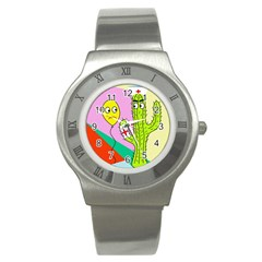 Health insurance  Stainless Steel Watch