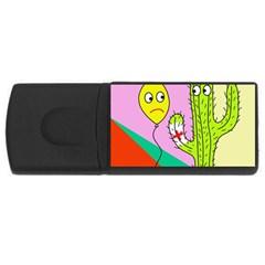 Health insurance  USB Flash Drive Rectangular (4 GB)