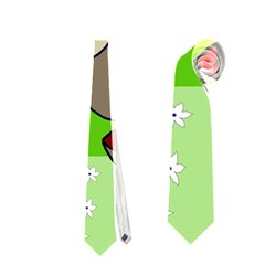 Butterfly and rhino Neckties (Two Side)