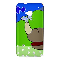 Butterfly and rhino HTC One M7 Hardshell Case