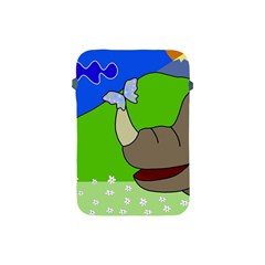 Butterfly and rhino Apple iPad Mini Protective Soft Cases