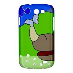 Butterfly and rhino Samsung Galaxy Express I8730 Hardshell Case