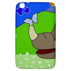 Butterfly and rhino Samsung Galaxy Tab 3 (8 ) T3100 Hardshell Case