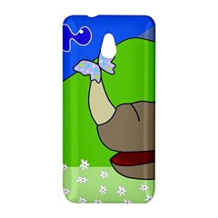 Butterfly and rhino HTC One Mini (601e) M4 Hardshell Case