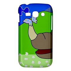 Butterfly and rhino Samsung Galaxy Ace 3 S7272 Hardshell Case