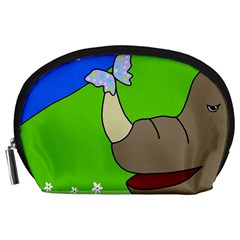 Butterfly and rhino Accessory Pouches (Large)