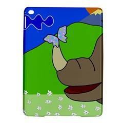 Butterfly and rhino iPad Air 2 Hardshell Cases