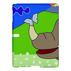 Butterfly and rhino Samsung Galaxy Tab S (10.5 ) Hardshell Case