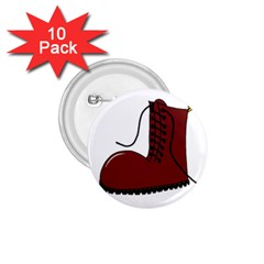 Boot 1.75  Buttons (10 pack)