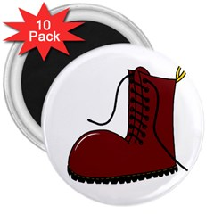 Boot 3  Magnets (10 pack)
