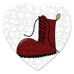 Boot Jigsaw Puzzle (Heart)