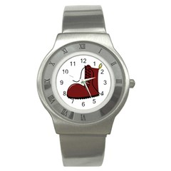 Boot Stainless Steel Watch