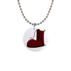 Boot Button Necklaces